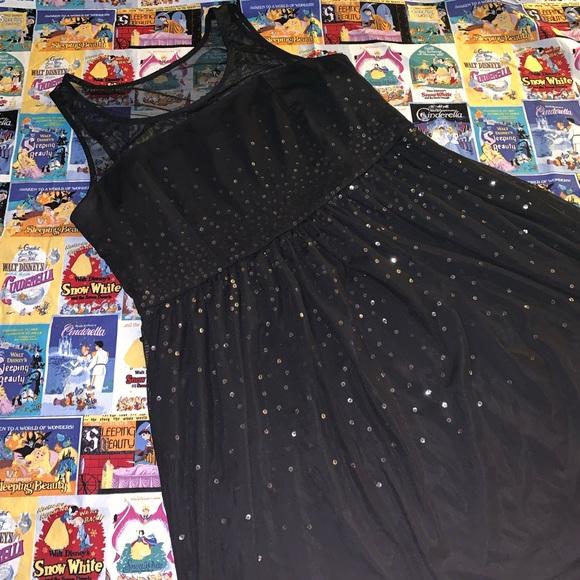 Lane Bryant Dresses & Skirts - Lane Bryant black sequin party dress